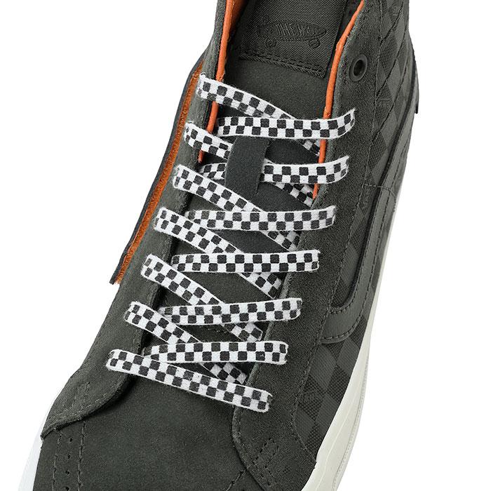 ポーター × ヴァンズ SK8-ハイ リイシューVLT LX Porter_VANS_K8-HI_REISSUE_VLT_LX_390-85230_shoelace-2