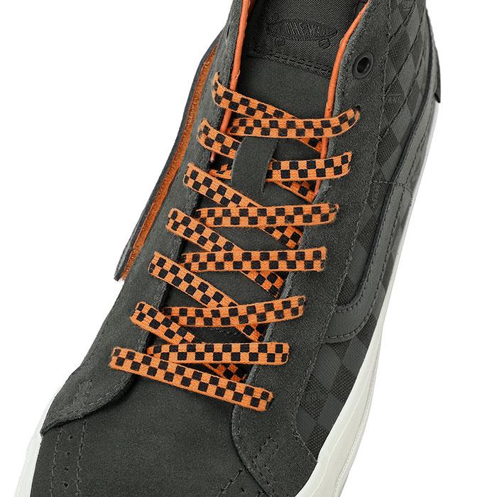 ポーター × ヴァンズ SK8-ハイ リイシューVLT LX Porter_VANS_K8-HI_REISSUE_VLT_LX_390-85230_shoelace