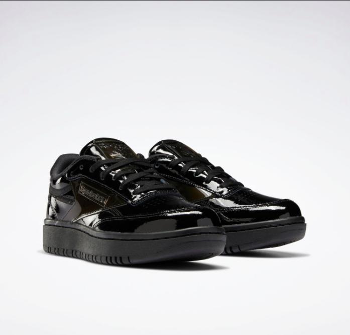 リーボック × カーディビー/ クラブ シー ダブル (ブラック) Reebok_Cardi_Coated_Club_C_Double_Black_H02565-pair