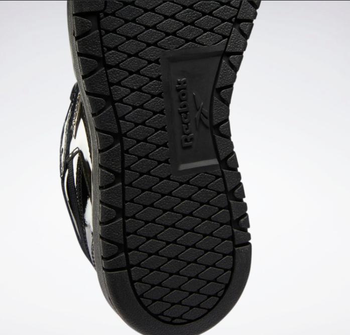 リーボック × カーディビー/ クラブ シー ダブル (ブラック) Reebok_Cardi_Coated_Club_C_Double_Black_H02565-sole-closeup