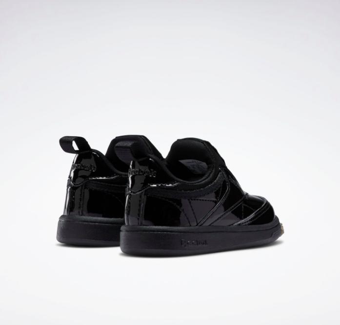 リーボック × カーディビー (トドラー)/ クラブ シー スリップオン (ブラック) Reebok_Club_C_Cardi_Slip_on_Toddler_Black_H02521-pair-back