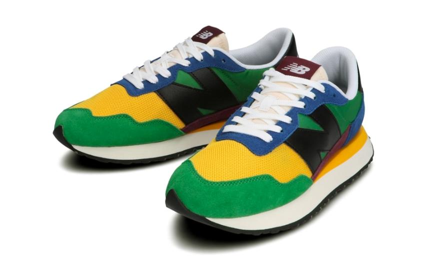 ニューバランス MS237 (グリーン) New-Balance-MS237LB1-Green-pair