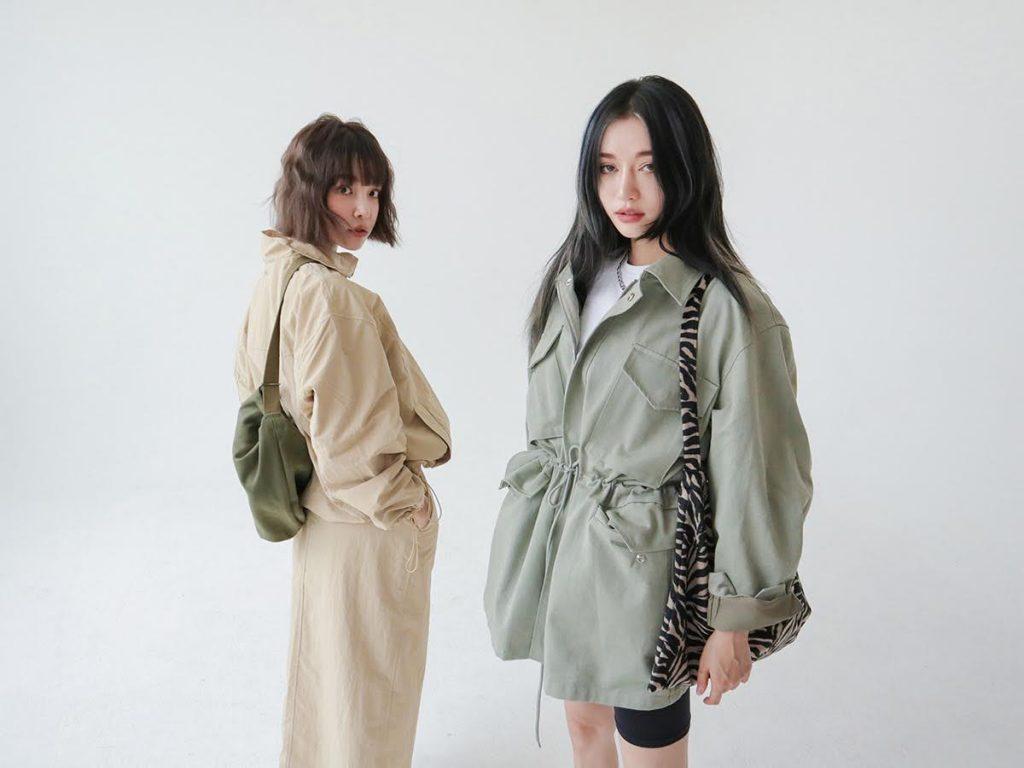 スタイルナンダ 韓国 ファッション ブランド 人気 おすすめ Stylenanda Korean Fashion Brand jacket