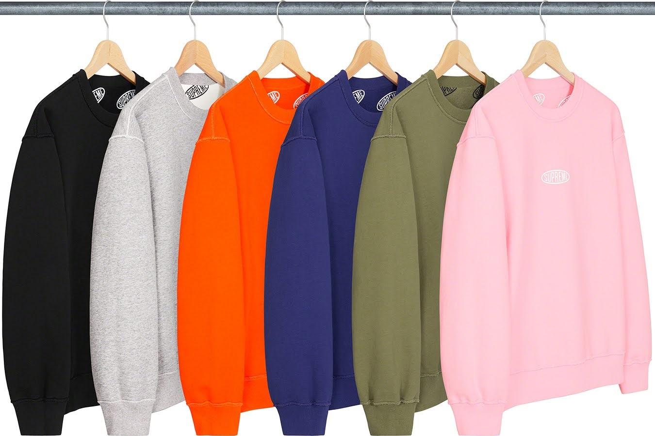 シュプリーム 2021年 春夏 新作 スウェットシャツ Supreme-2021SS-Sweatshirts-liner-crewneck all