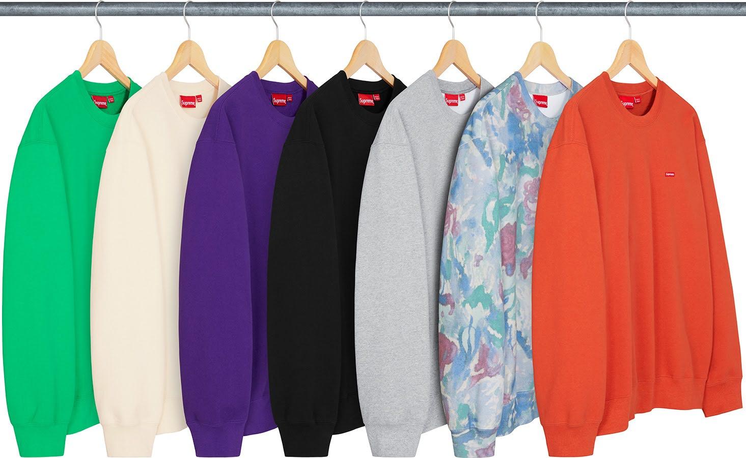 シュプリーム 2021年 春夏 新作 スウェットシャツ Supreme-2021SS-sweatshirts-small-box-crewneck