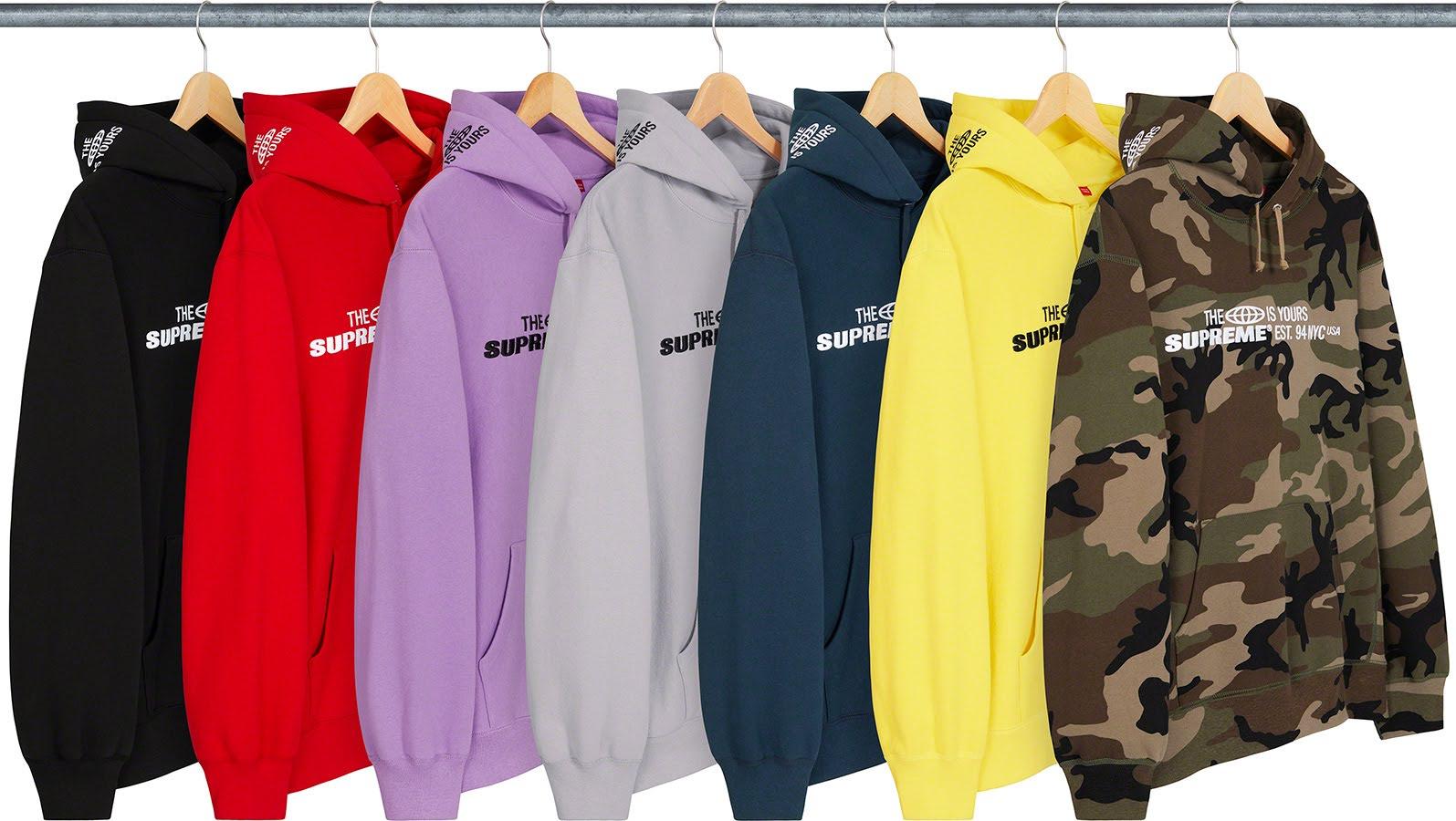 シュプリーム 2021年 春夏 新作 スウェットシャツ Supreme-2021SS-sweatshirts-world-is-yours-hooded-sweatshirt-7-colors