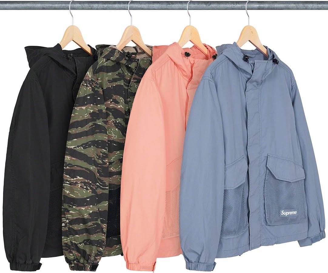 シュプリーム 2021年 春夏 新作 ジャケット Supreme 2021ss jacket 一覧 mesh-packet-cargo-jacket