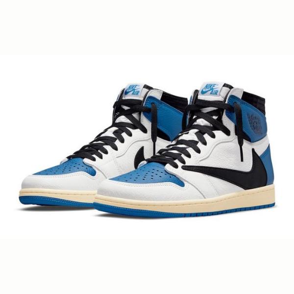 "7月29日発売【Travis Scott × Fragment × Nike Air Jordan 1 High ""Royal""】"