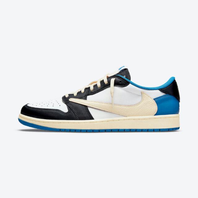 トラヴィススコット フラグメント ナイキ コラボ エア ジョーダン 1 ロー Travis Scott x Fragment x Nike Air Jordan 1 Low side featured image