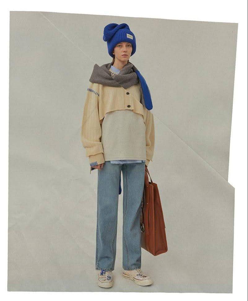 Ader error アーダーエラー 韓国 ファッション ブランド おすすめ 人気 ader-error-fall-winter-2020-bluessom-lookbook-collection women