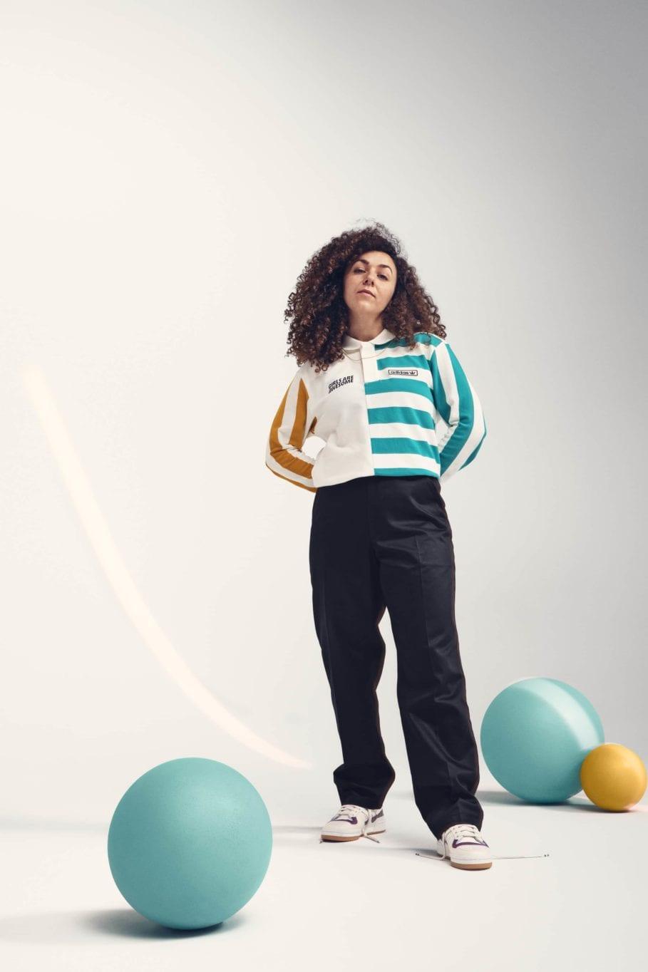 アディダス オリジナルス × ガールズ アー オーサム コレクション adidasxGirlsAreAwesome_UnisexRugby-White