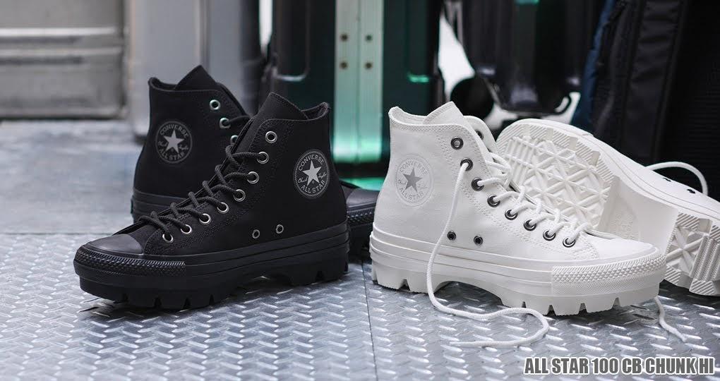 2月12日発売【Converse All Star 100 CB Chunk High 2 Colors】