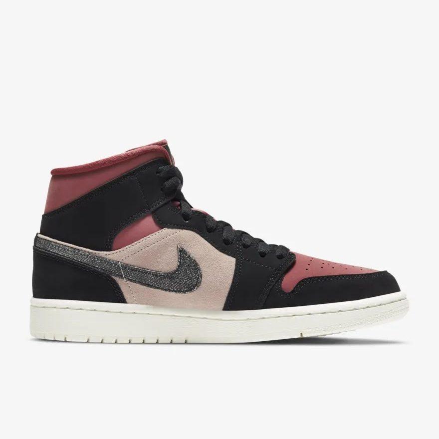 """ナイキ ウィメンズ エア ジョーダン 1 ミッド """"キャニオン ラスト"""" Nike-WMNS-Air-Jordan-1-Mid-Canyon-Rust-BQ6472-202-side-2"""