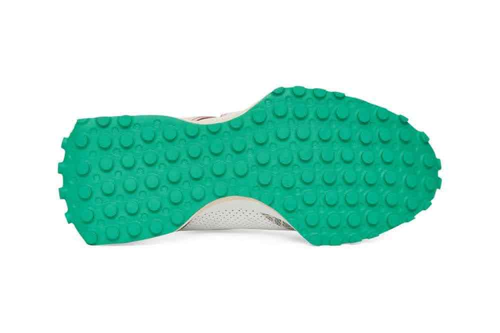 カサブランカ ニューバランス コラボ 327 モノグラム エディション casablanca-x-new-balance-327-monogram-white-green-sole