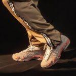 """クロット × ナイキ エア ジョーダン 14 ロー """"テラコッタ"""" clot-x-nike-air-jordan-14-low-terracotta-dc9857-200-on-feet"""