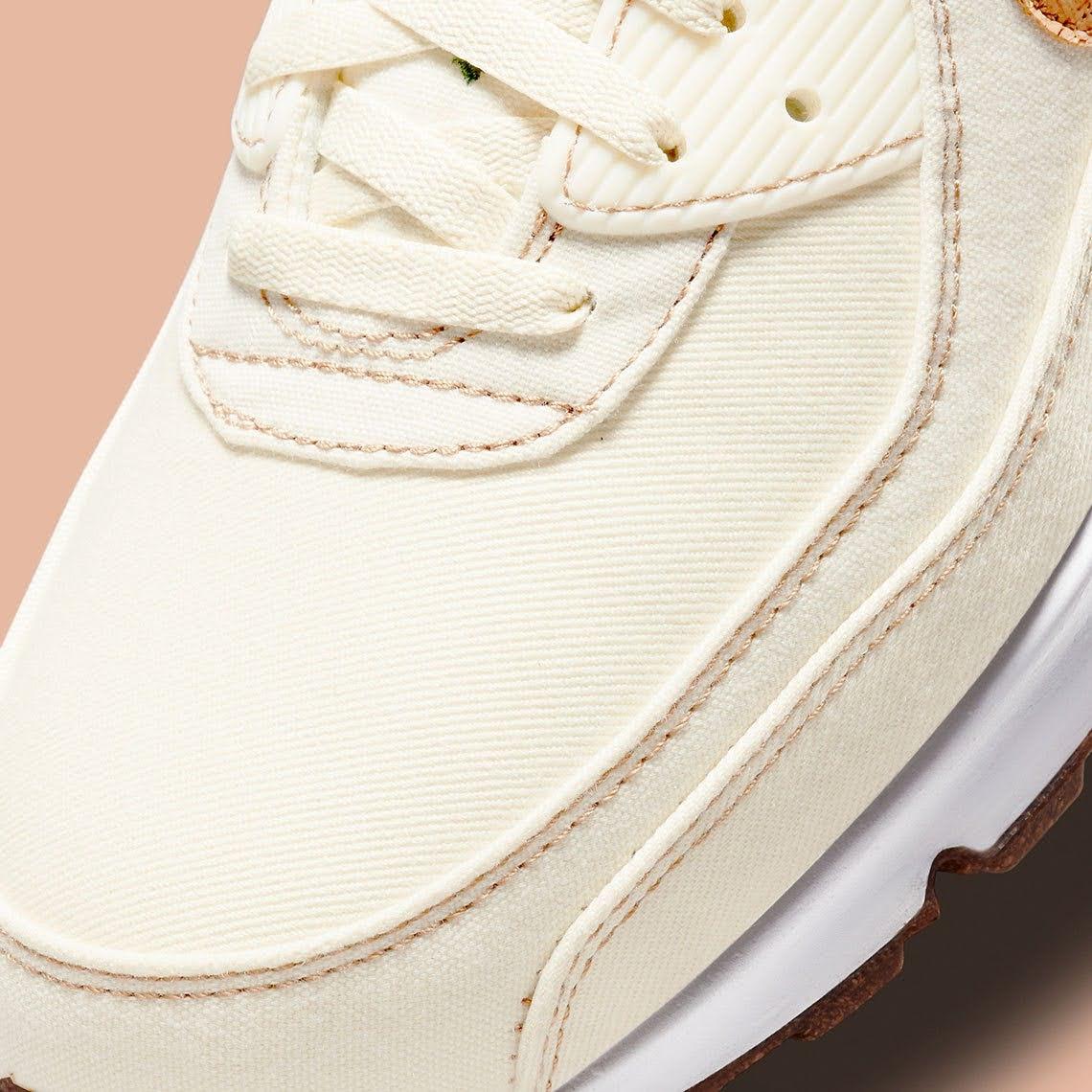 """ナイキ エア マックス 90 """"コルク"""" Nike-Air-Max-90-Cork-DD0385-100-toe"""