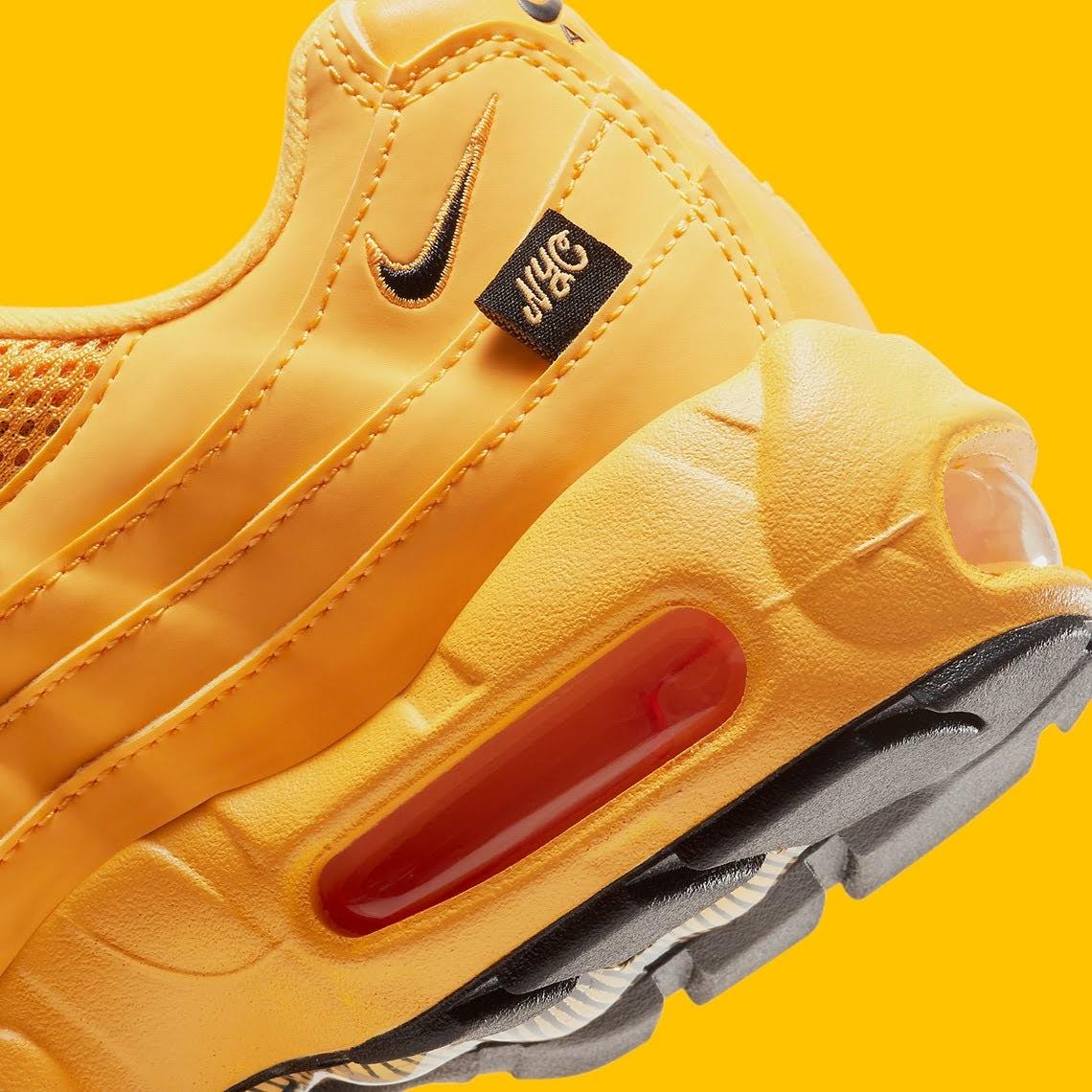 """ナイキ エア マックス 95 """"ニューヨークシティ タクシー"""" Nike-Air-Max-95-GS-NYC-Taxi-DH0147-700-side-heel-closeup"""