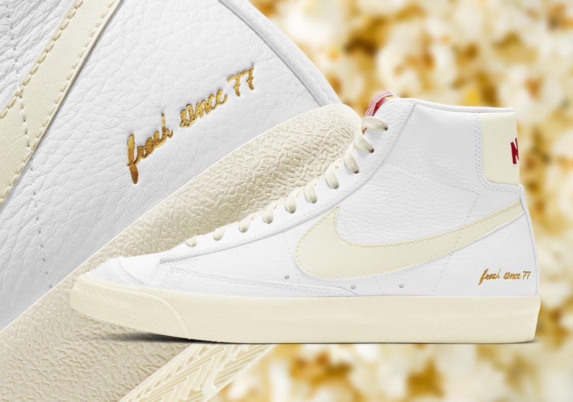 """ナイキ ブレーザー ミッド """"ポップコーン"""" Nike-Blazer-Mid-77-Vintage-Popcorn-CW6421-100-main"""