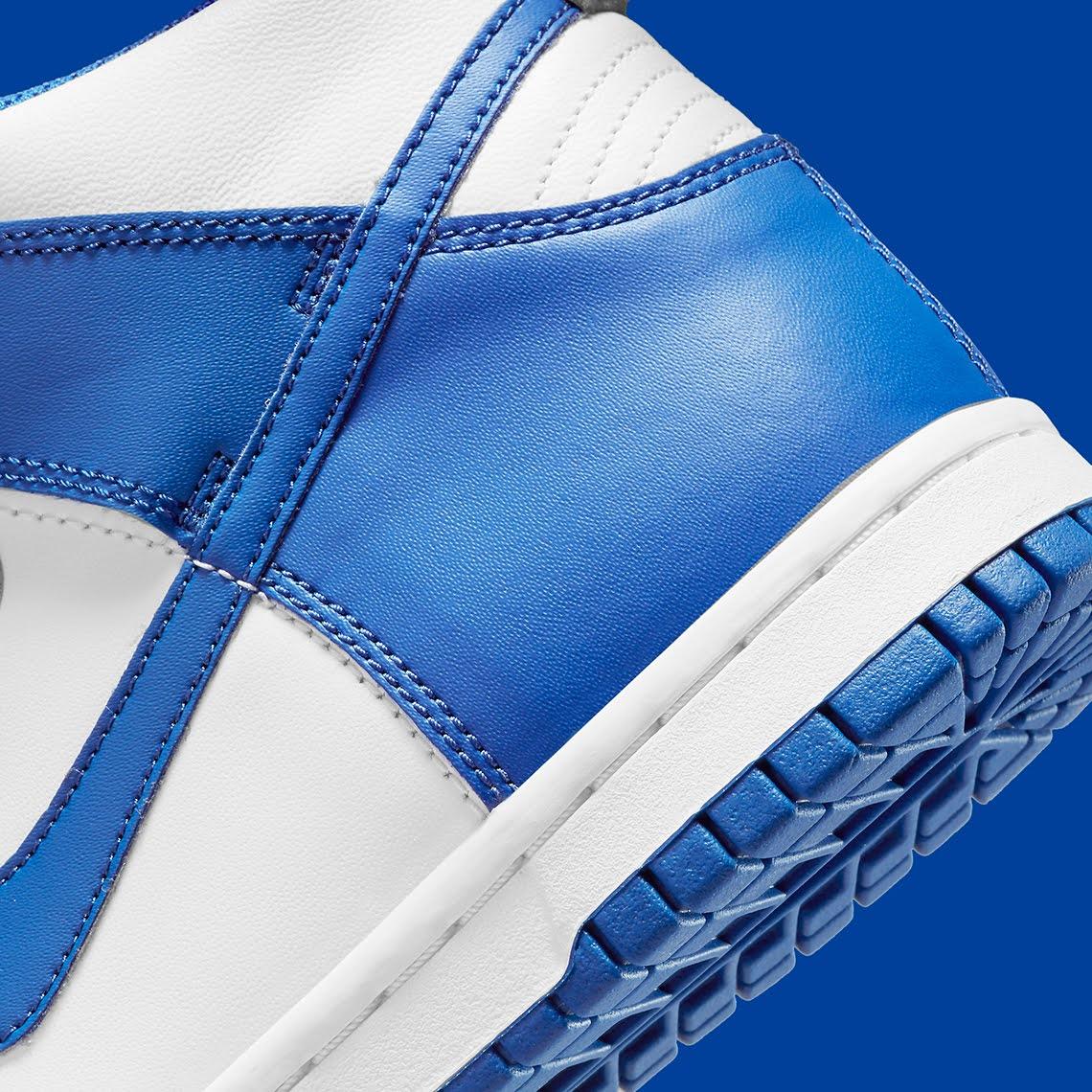 """ナイキ ダンク ハイ """"ゲーム ロイヤル"""" Nike-Dunk-High-Game-Royal-DC9265-101-heel-closeup"""