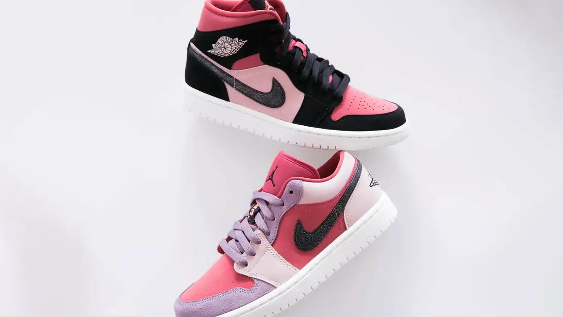 """ナイキ ウィメンズ エア ジョーダン 1 ロー/ ミッド """"キャニオン ラスト"""" Nike-WMNS-Air-Jordan-1-Low-Mid-Canyon Rust-DC0774-602-BQ6472-202-main"""