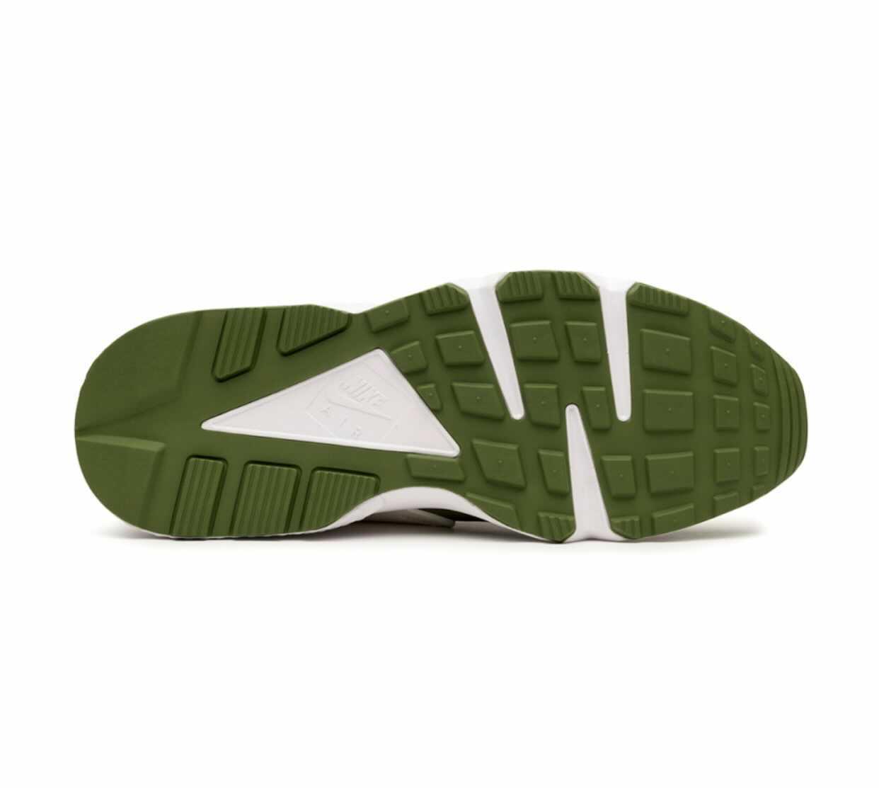 Stussy × Nike Air Huarache Olive ステューシー × ナイキ エア ハラチ オリーブ DARK OLIVE/VARSITY MAIZE-WHITE-PALE IVORY Code: DD1381-200