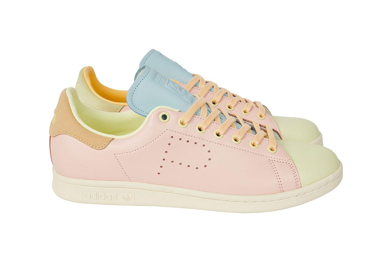 """パレス スケートボード × アディダス オリジナルス スタンスミス """"ハーゼ イエロー/ アイスピンク-アイスブルー"""" Palace-Skateboards-adidas-Originals-Stan-Smith-Hase-Yellow-Ice-Pink-Ice-Blue-pair"""