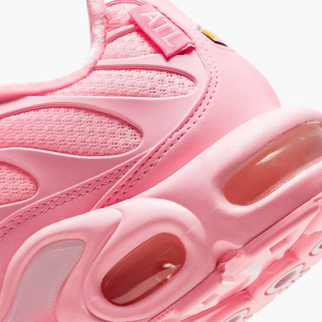 """ナイキ エア マックス プラス """"アトランタ"""" nike-air-max-plus-atlanta-city-special-dh0155-600-side-heel--closeup"""