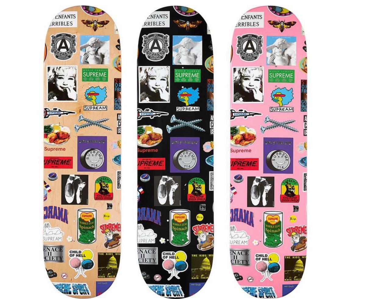 Stickers Skateboard シュプリーム 2021年 春夏 新作 Supreme-2021ss-week-1