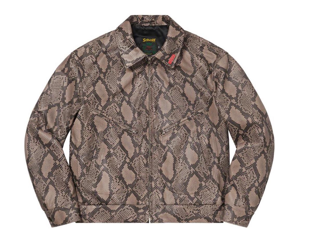 シュプリーム 2021年 春夏 新作 Supreme-2021ss-week-1Supreme®/Schott® Leather Work Jacket