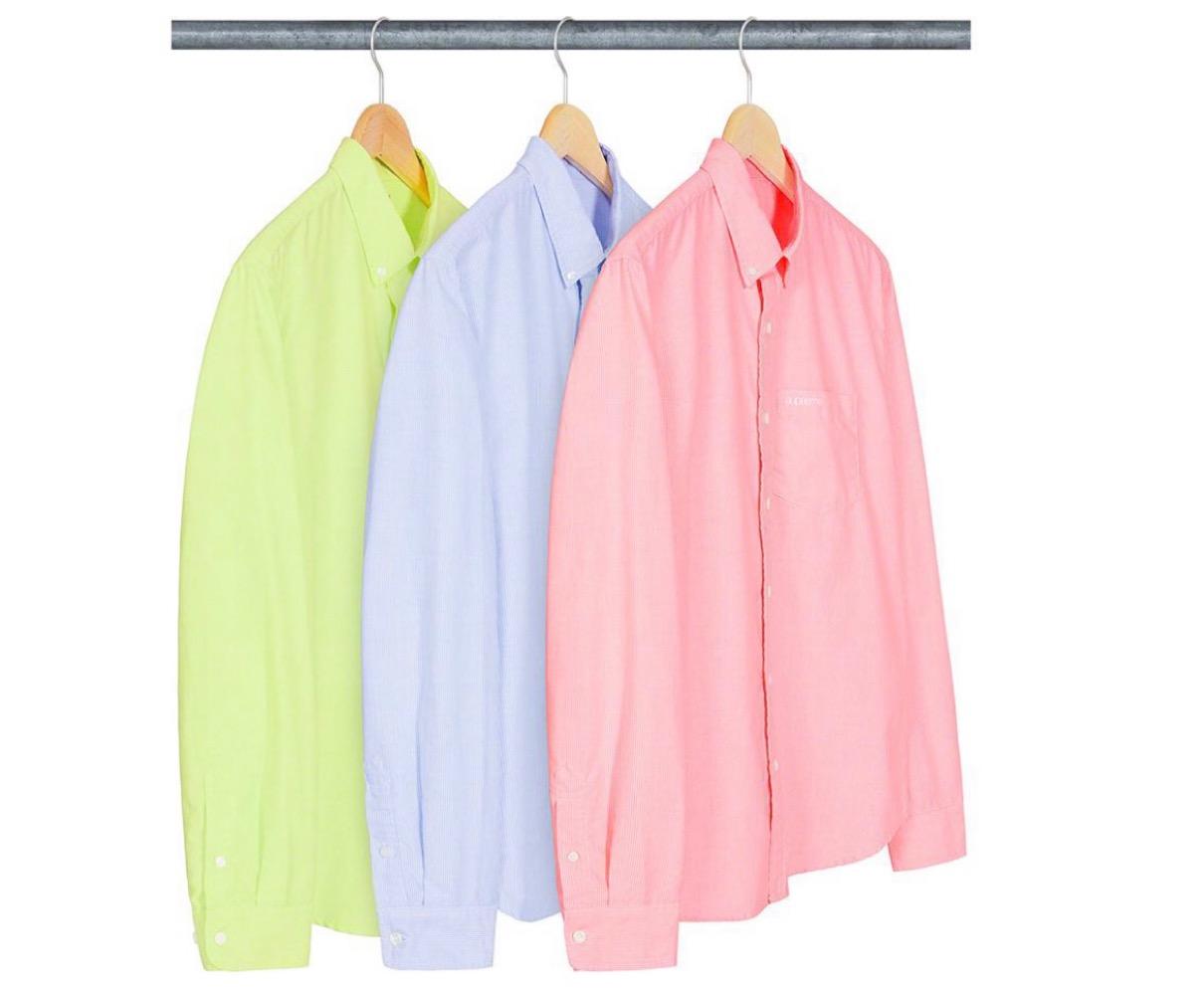 シュプリーム 2021年 春夏 新作 Supreme-2021ss-week-1 Stripe Oxford Shirt