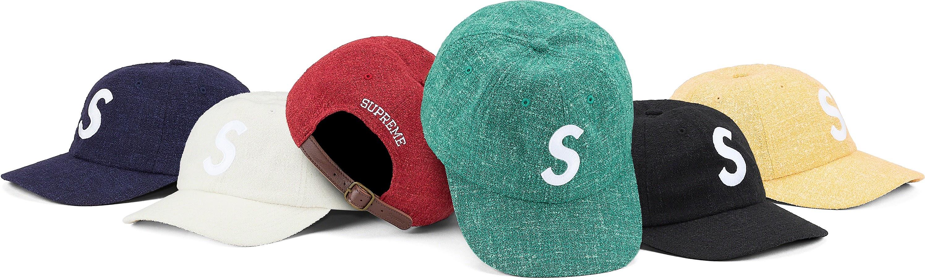 Terry S Logo 6-Panel シュプリーム 2021年 春夏 新作 ハット Supreme 2021SS hat