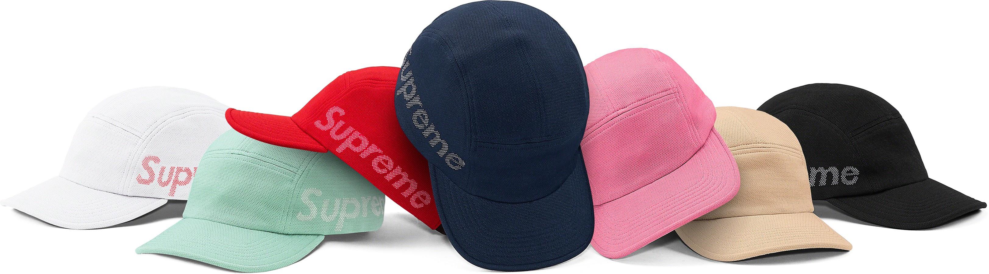 Jacquard pique Camp Cap シュプリーム 2021年 春夏 新作 ハット Supreme 2021SS hat