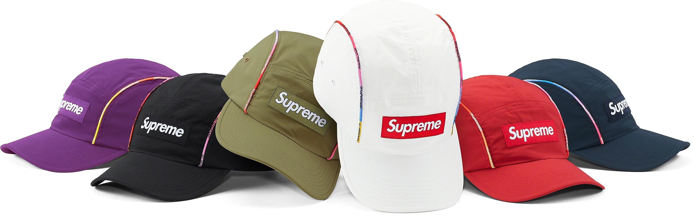 Gradient piping Camp Cap シュプリーム 2021年 春夏 新作 ハット Supreme 2021SS hat