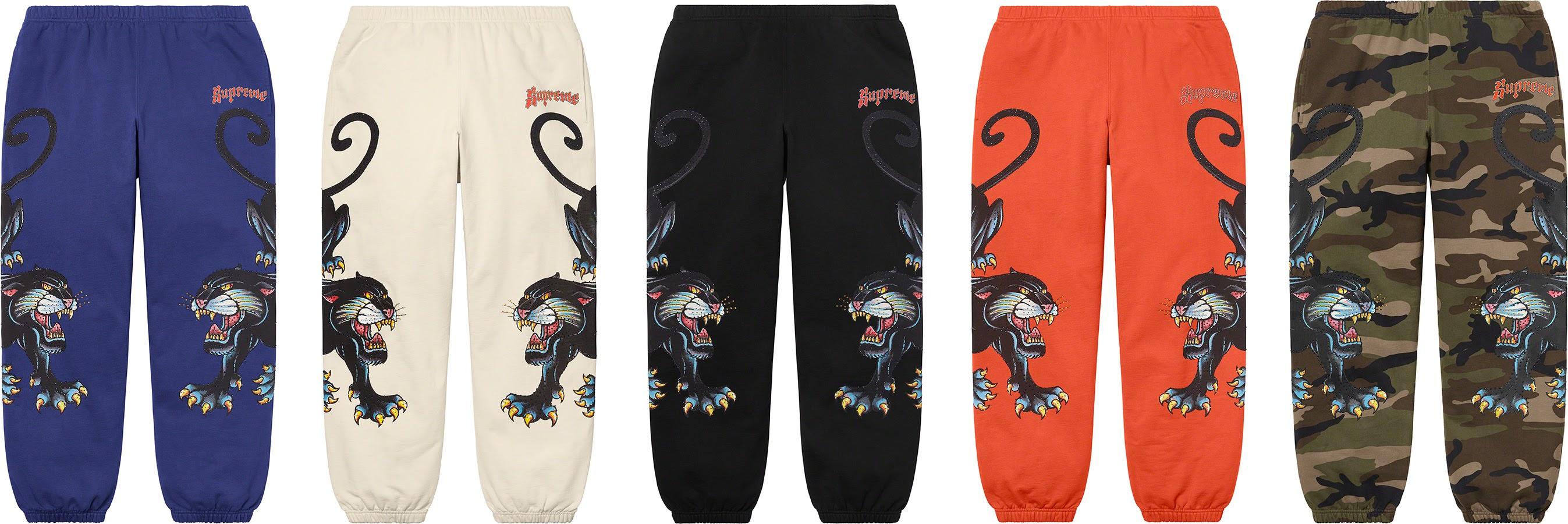 シュプリーム 2021年 春夏 新作 パンツ ショーツ Supreme 2021ss pants shorts 一覧 Panther Sweatpant