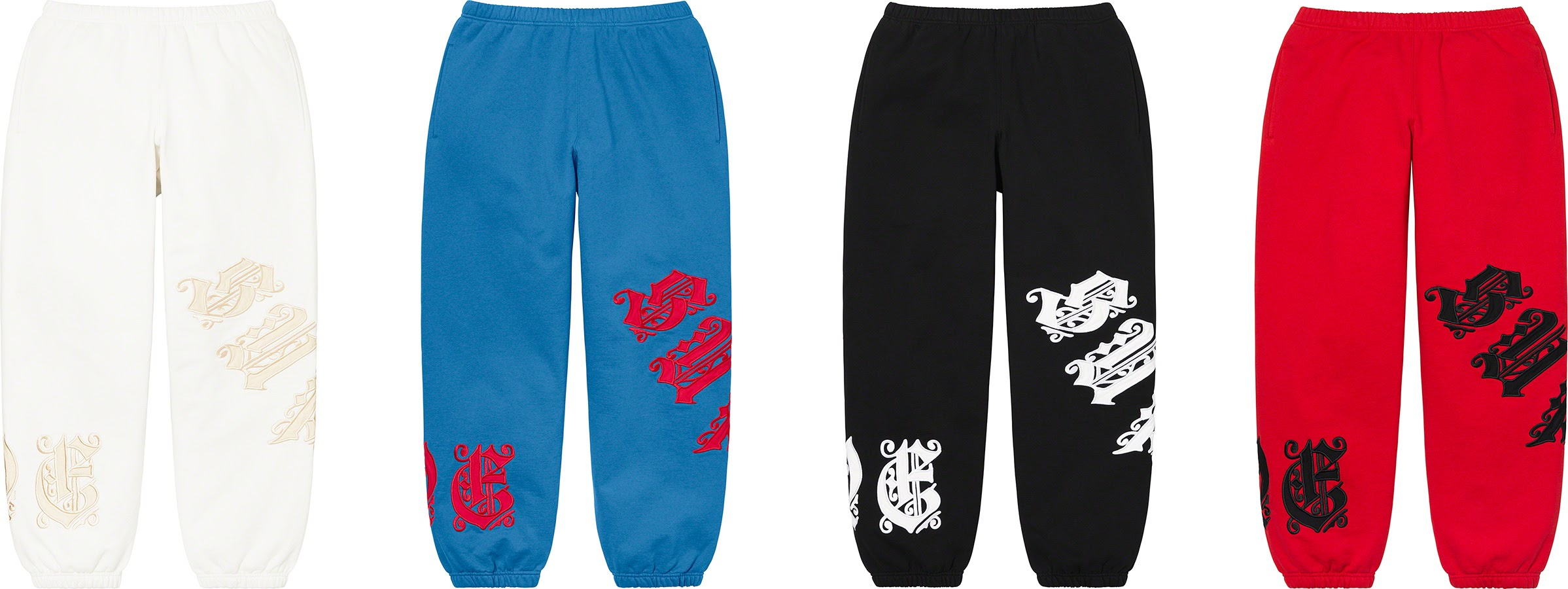 シュプリーム 2021年 春夏 新作 パンツ ショーツ Supreme 2021ss pants shorts 一覧 old English Wrap Sweatpant