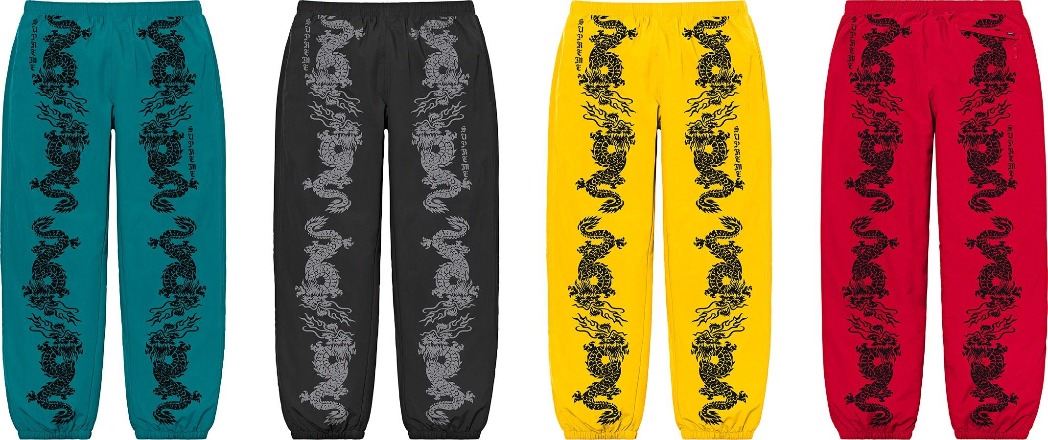 シュプリーム 2021年 春夏 新作 パンツ ショーツ Supreme 2021ss pants shorts 一覧 dragon Track pant