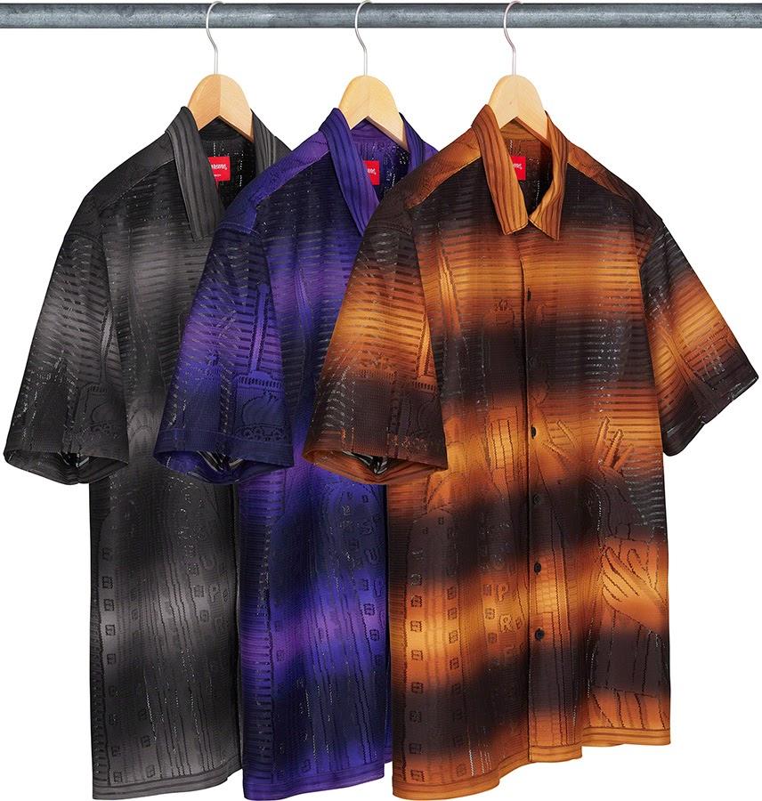 シュプリーム 2021年 春夏 新作 シャツ Supreme 2021SS shirts Liberty Lace S/S Shirt