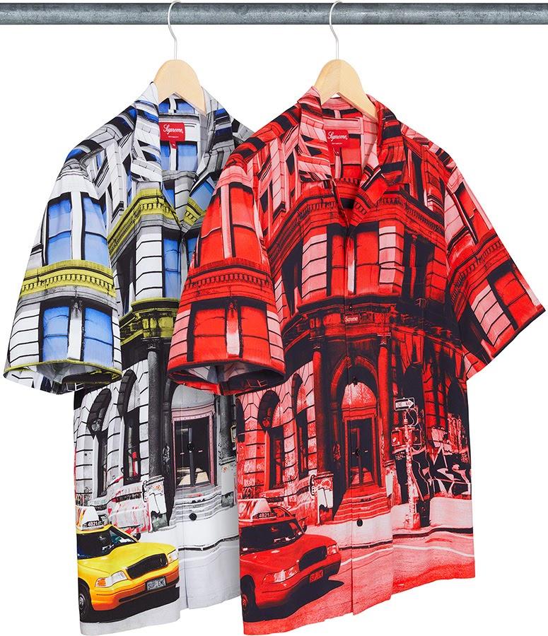 シュプリーム 2021年 春夏 新作 シャツ Supreme 2021SS shirts 190 Bowery Rayon S/S Shirt