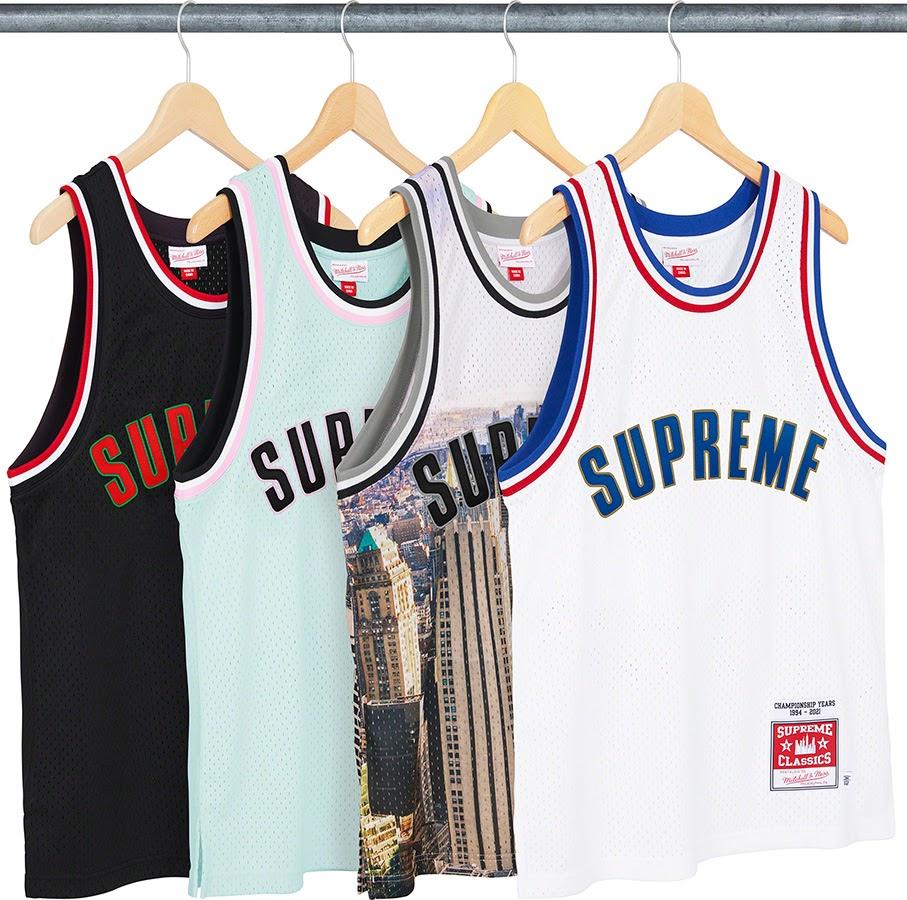Supreme/Mitchell & Ness Basketball Jersey シュプリーム 2021年 春夏 新作 Supreme-2021ss tops, sweateshirts 一覧