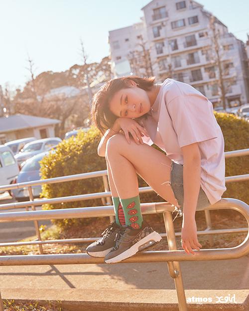 エックス ガール × アトモス ピンク ナイキ エア マックス ビバ 全2色 x-girl-atmos-pink-nike-air-max-viva-look-8