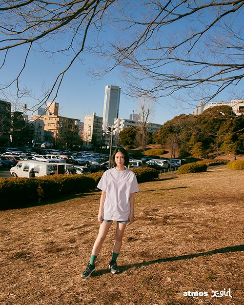 エックス ガール × アトモス ピンク ナイキ エア マックス ビバ 全2色 x-girl-atmos-pink-nike-air-max-viva-look-7