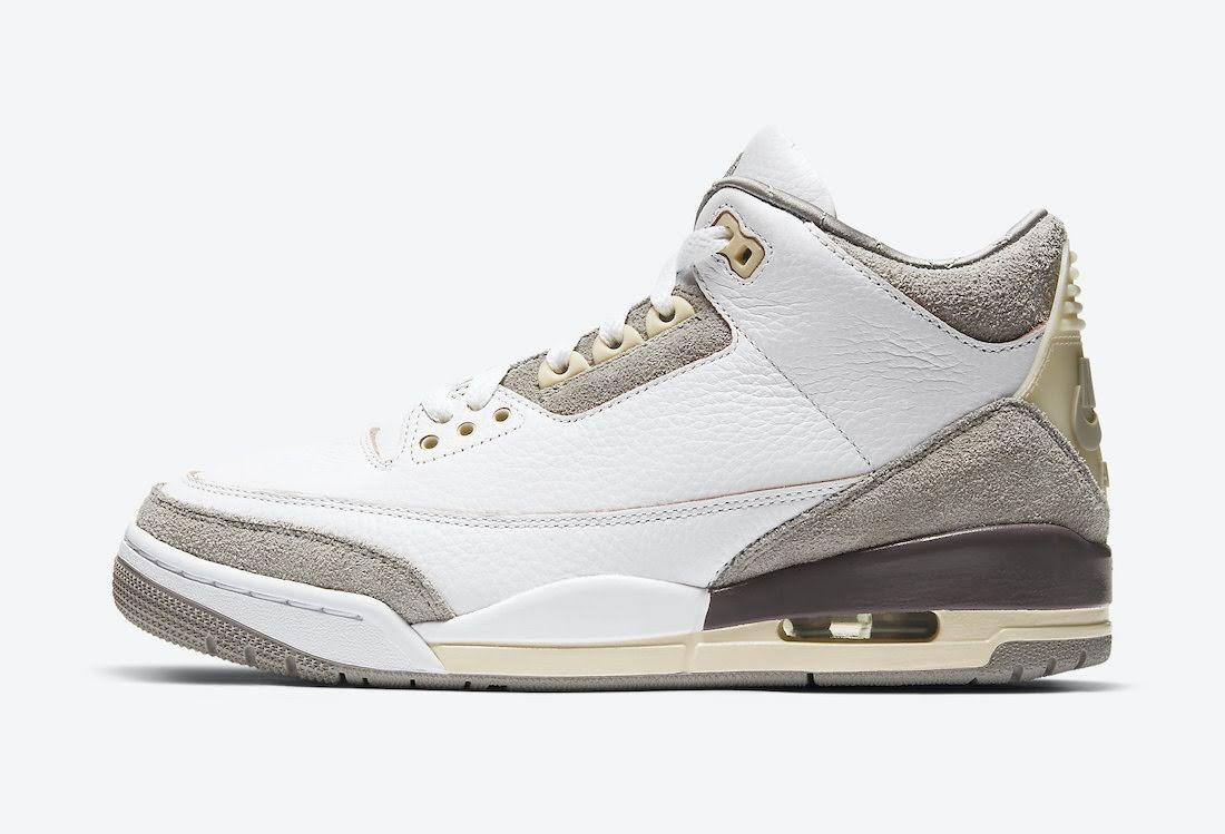 ア マ マニエール × ナイキ エア ジョーダン 3 A-Ma-Maniere-Nike-Air-Jordan-3-DH3434-110-side