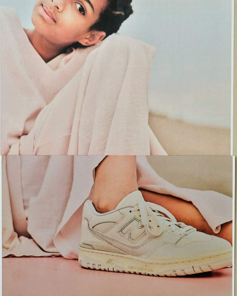 7月16日発売【AURALEE × New Balance 550】