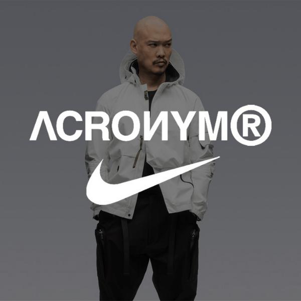 2021年秋頃発売【ACRONYM x Nike Blazer Low】