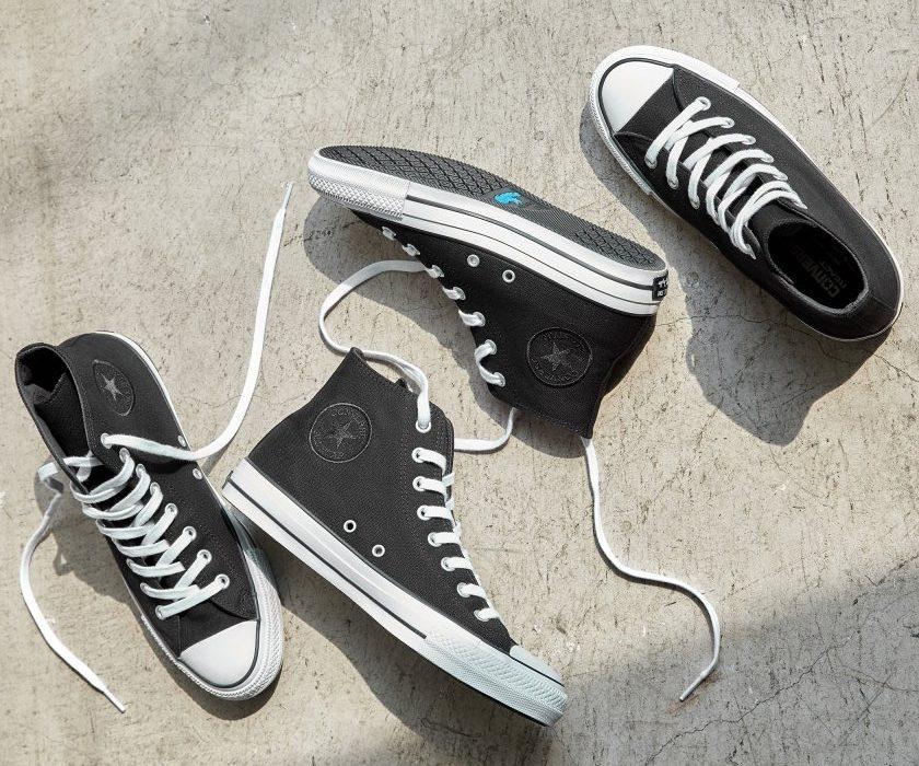 コンバース オールスター ハイ スニーカー ブラック グレー Converse All Star Hi Black Grey