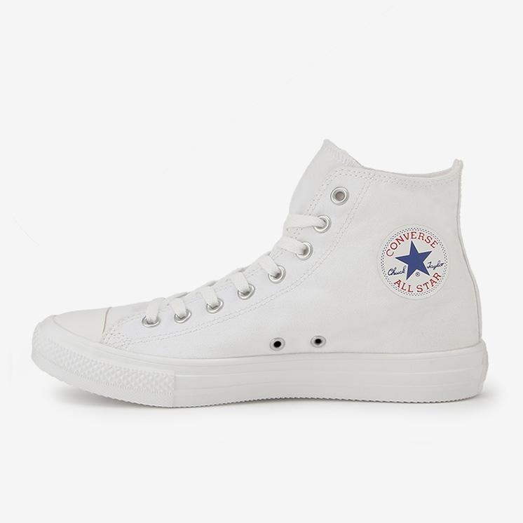 コンバース オールスター ライト スニーカー ハイカット Converse All Star Light Hi Top White