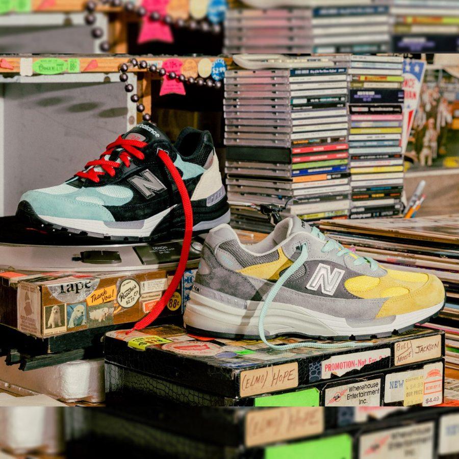 "4月2日発売【Nice Kicks x Amoeba Music x New Balance 992 ""Peace Through Music""】"