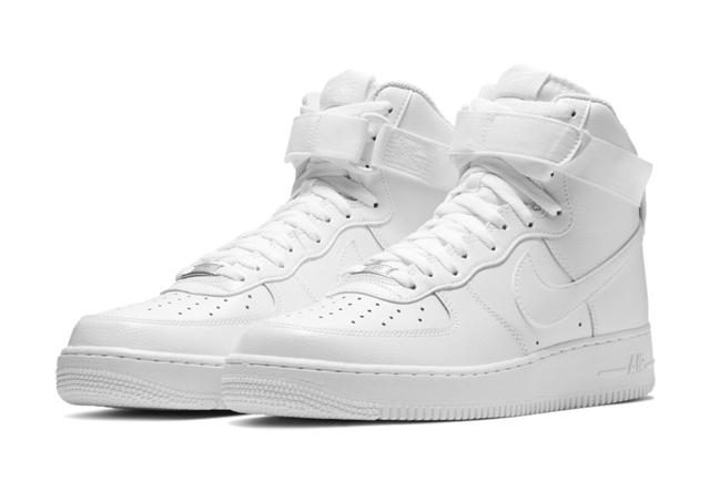 ナイキ エア フォース 1 ハイカット スニーカー Nike Air Force 1 Hi ALL WHITE CW2290