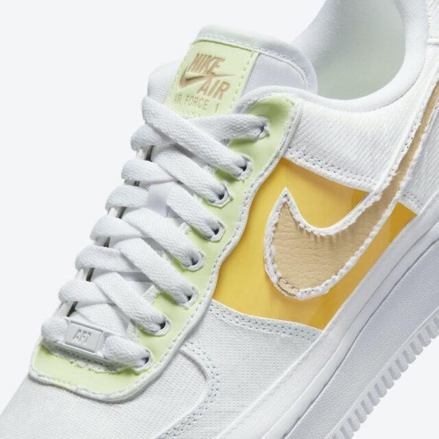 """ナイキ ウィメンズ エア フォース 1 ロー """"リベール"""" Nike-Air-Force-1-reveal-DJ6901-600-upper"""