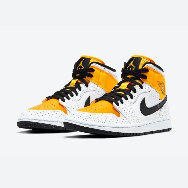 """3月15日発売【Nike WMNS Air Jordan 1 Mid """"University Gold""""】元気なイエローが可愛いウィメンズジョーダン!"""